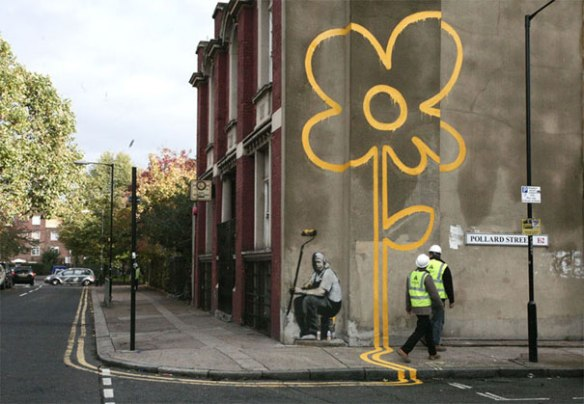 banksy-graffiti-street-art-flower